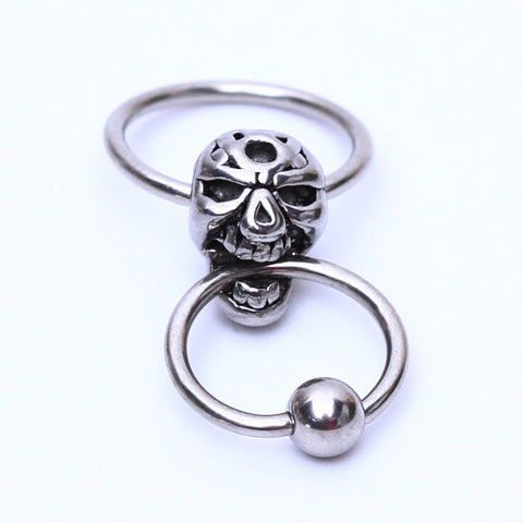 Skull Nipple Ring Jewelry