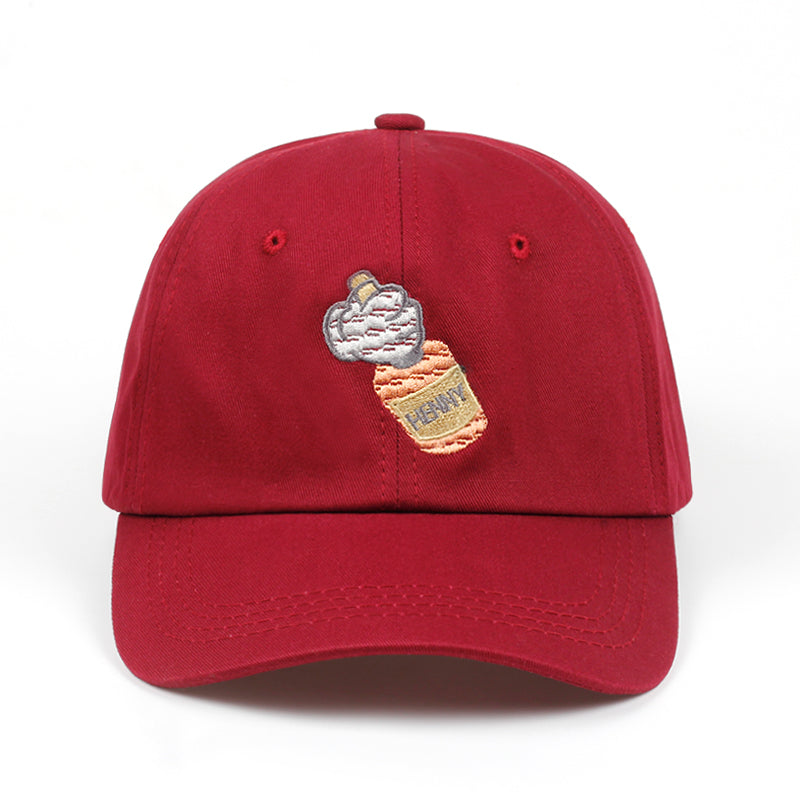 Henny Bottle Grip Dad Hat