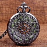 Steampunk Antique Ornamented Mechanical Pocket Watch