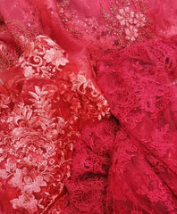 qipology red bridal lace