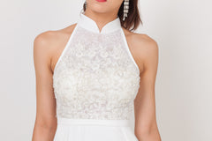 Qipology Hand Embroidered Bridal Qipao Gown – Qipology – Hong Kong Tailor Made Qipao Online Store