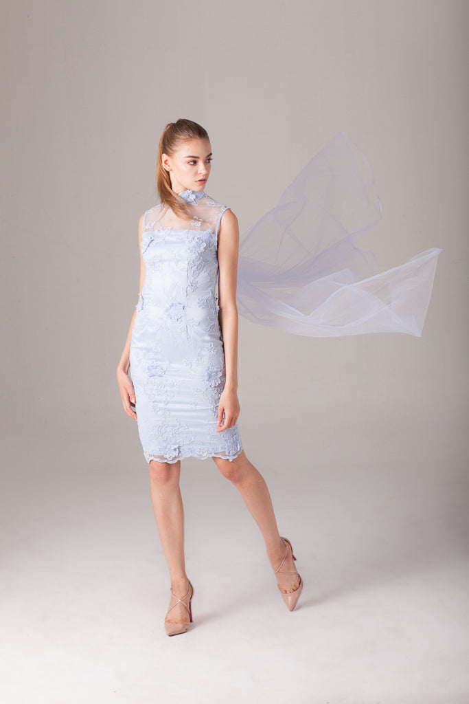 Qipology Tailor Made Mini Qipao  – Qipology – Hong Kong Tailor Made Qipao Online Store