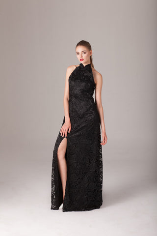 Qipology Lace Qipao Gown  – Qipology – Hong Kong Tailor Made Qipao Online Store