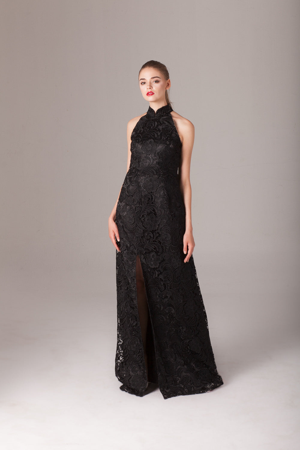 Qipology Lace Qipao Gown