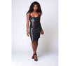 Empress Me Cowl Neck Fitted Dress