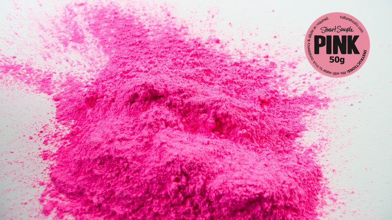the world s pinkest pink 50g powdered paint by stuart semple