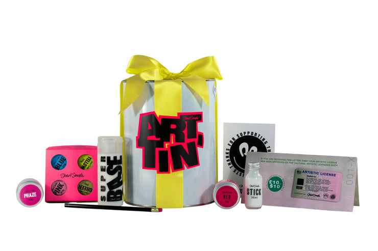 The artiest holiday gift set - Yellow Edition
