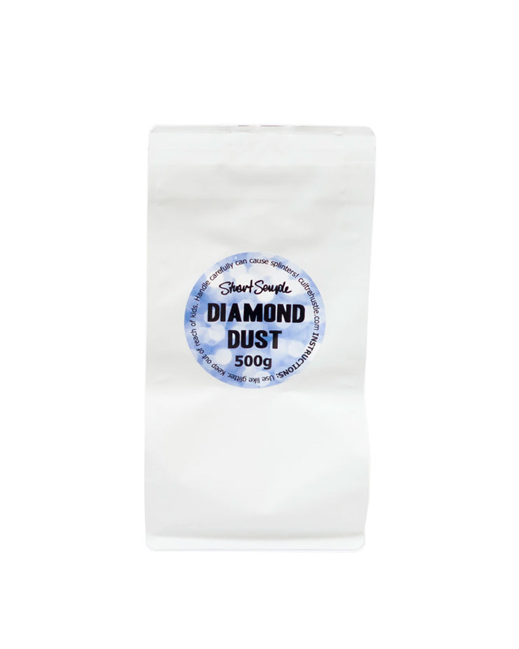 THE BIG GLITTER - 500g diamond dust, world's most glittery glitter