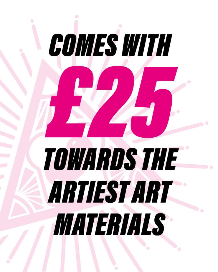Artistic License - wallet sized artist pass and £25 gift card