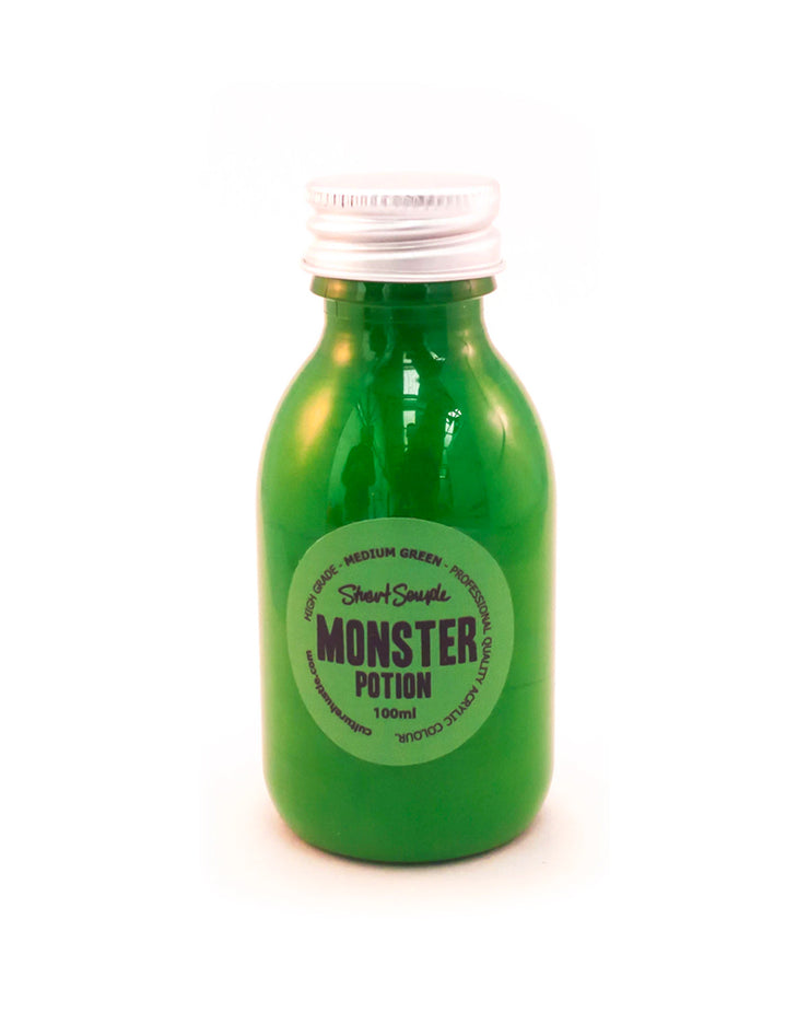 MONSTER - medium green, high grade professional acrylic paint, by Stuart Semple 100ml