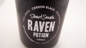 RAVEN - carbon black, high grade professional acrylic paint, by Stuart Semple 100ml