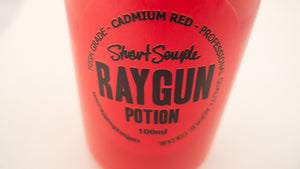 RAYGUN - cadmium red, high grade professional acrylic paint, by Stuart Semple 100ml