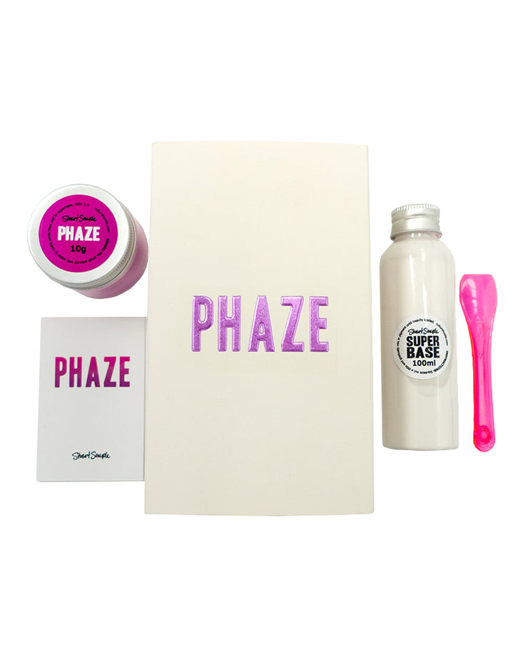 PHAZE - colour changing paint -  Purple Haze to Pinkest Pink
