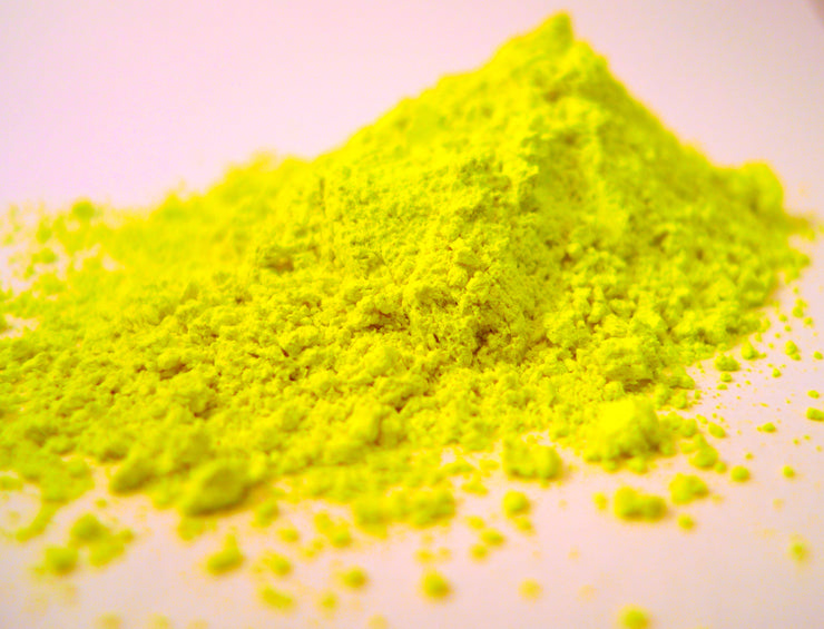THE BIG YELLOW - 500g world's yellowest yellow powdered paint