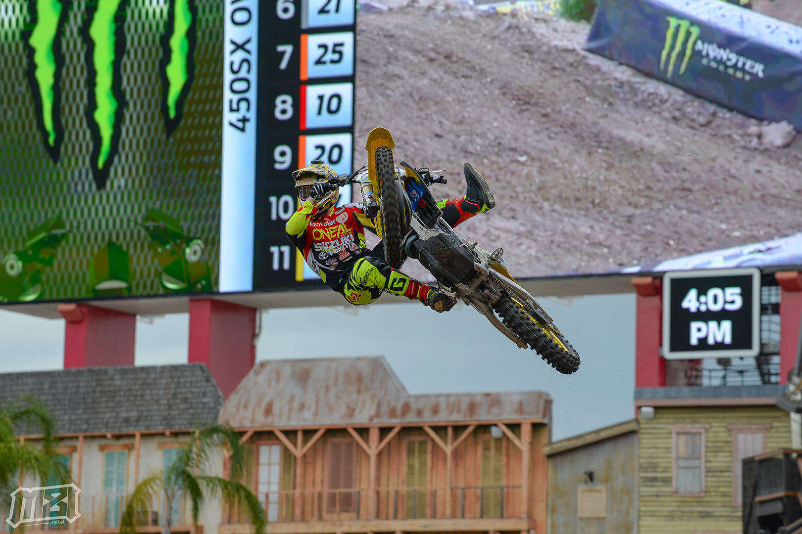 Justin Hill Tampa Supercross