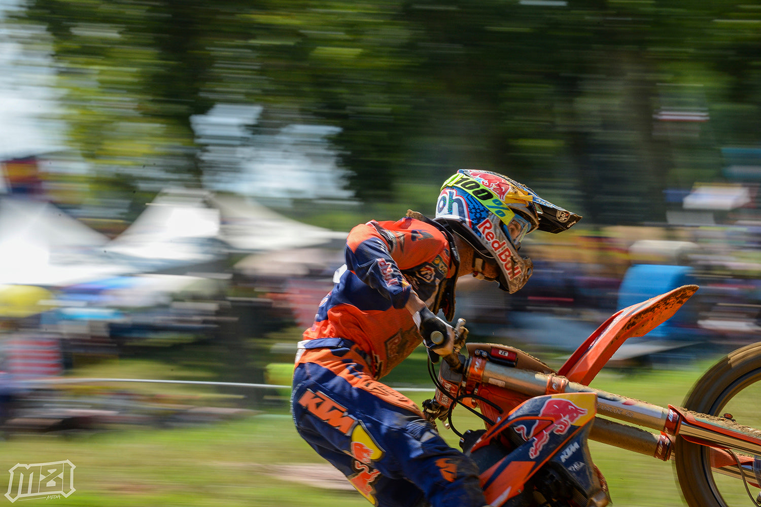 Marvin Musquin Wide Open