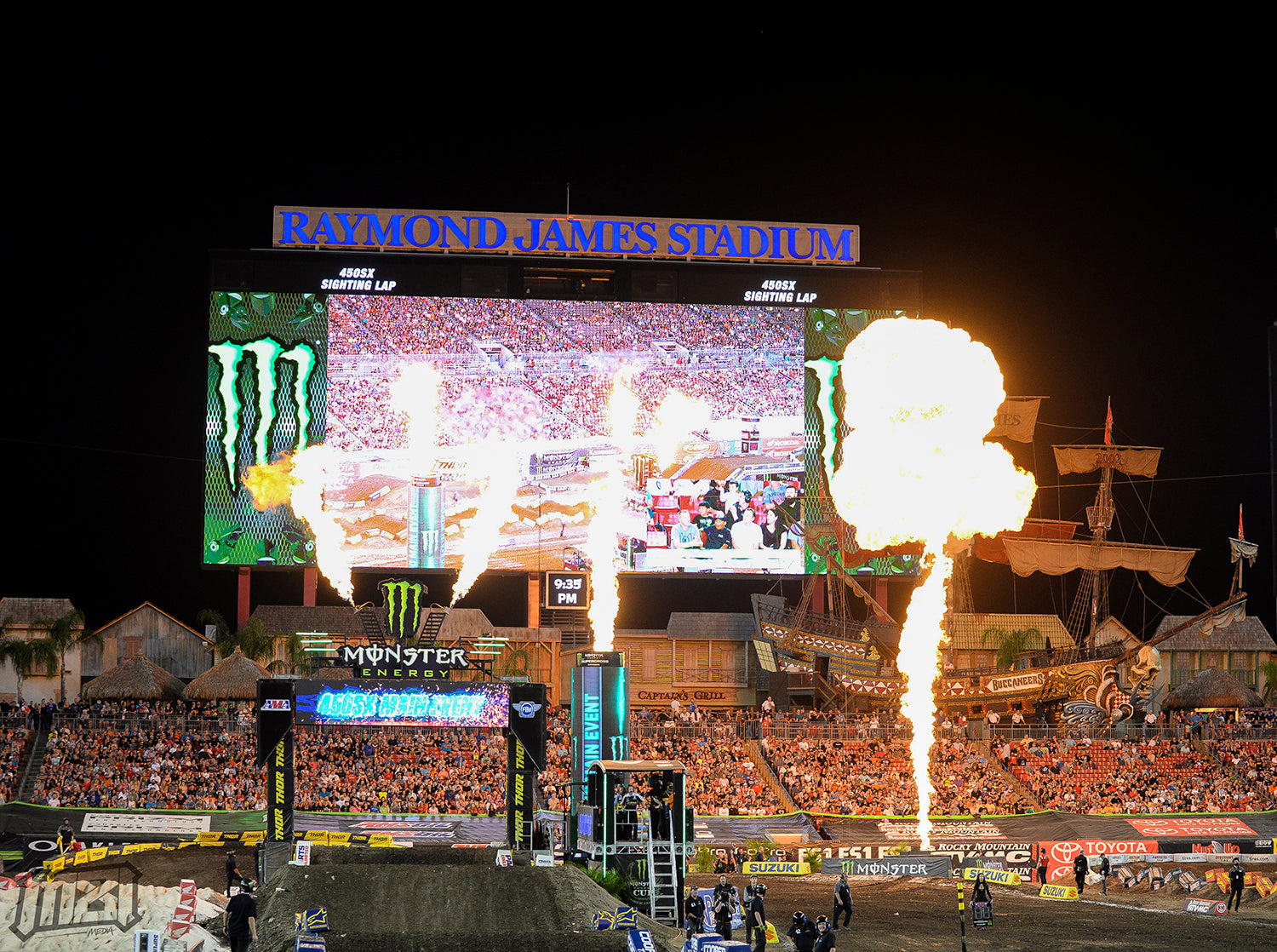 Monster Energy Supercross Tampa Florida
