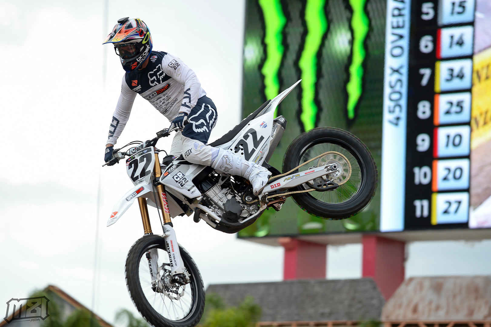 Chad Reed Tampa Supercross