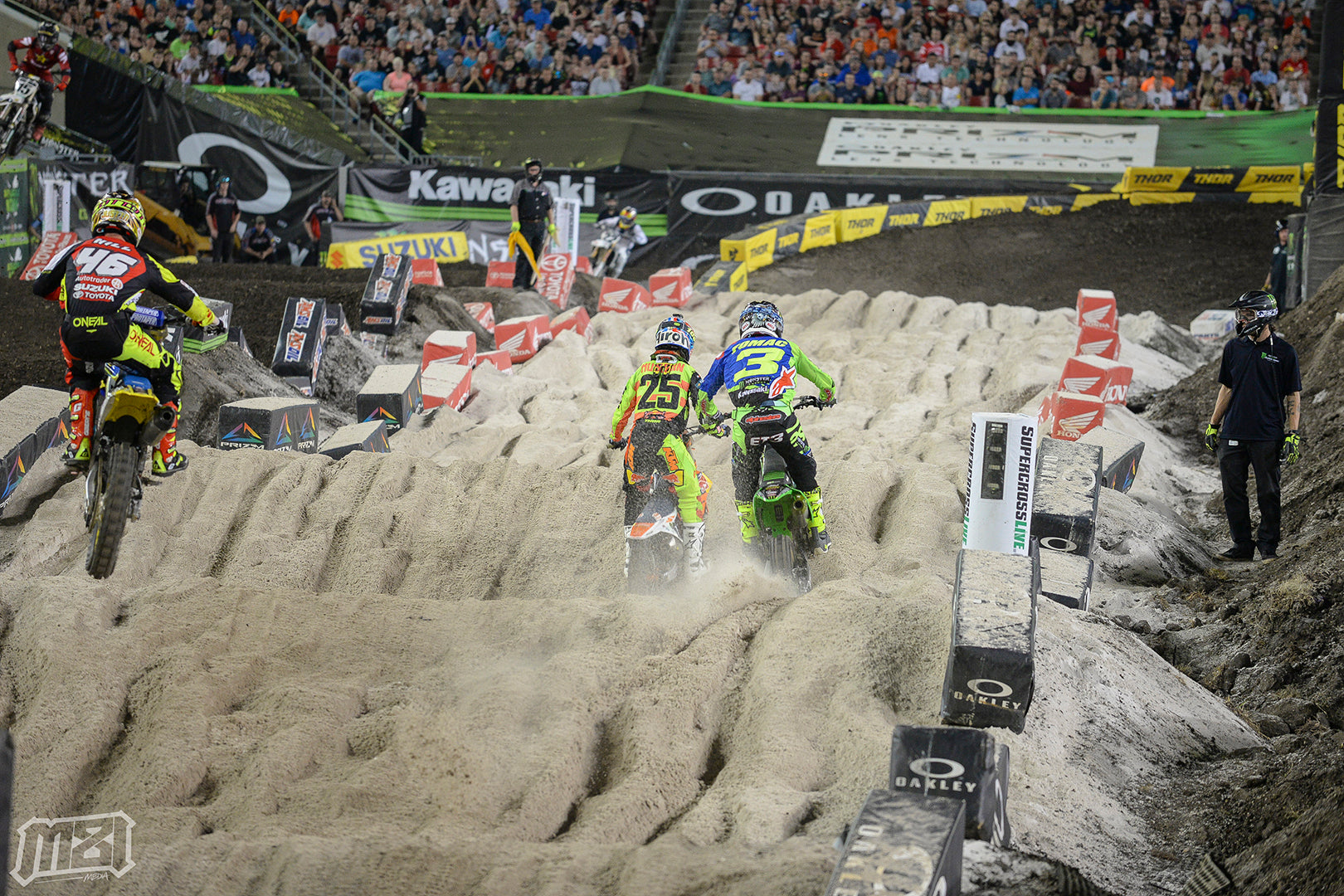 Tampa Supercross Sand Section Battle