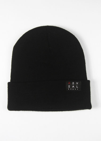 Reveal black beanie