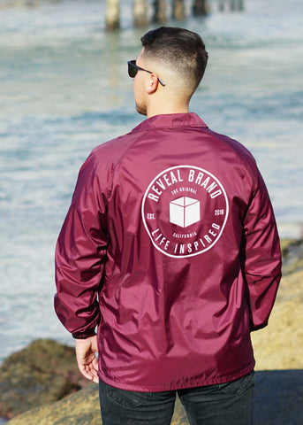 Coach's Jacket (Maroon)
