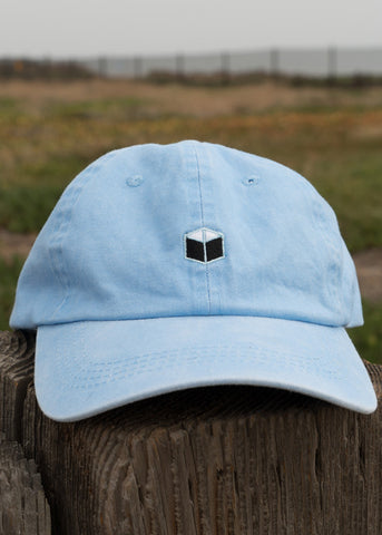 Blue dad hat