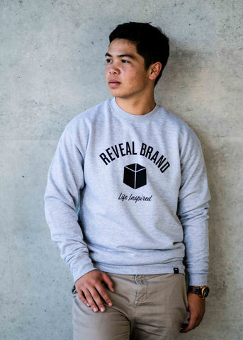 Crew Sweatshirt (Athletic Grey)