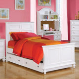 Acme Athena White 9 Piece Youth Bedroom Set with Trundle - Comfy Kids Bedroom