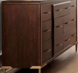 Acme Eschenbach 25965 Cherry Finish Dresser - Comfy Kids Bedroom