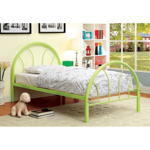 Furniture of America Braeden Contemporary Style Arch Metal Full Bed
