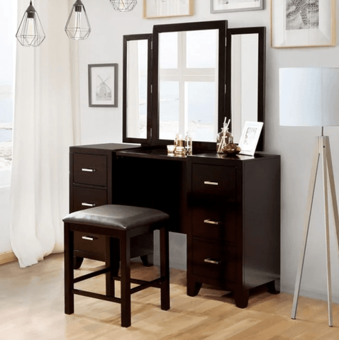 Furniture of America Kavalli Contemporary Style Vanity Set