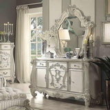 Acme Versailles Vintage Gray and White 5 Piece Bedroom Set - Comfy Kids Bedroom