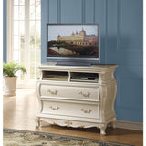 Acme Chantelle 23547 Pearl White TV Console