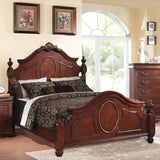 Acme Estrella 21724CK / 21727EK / 21730Q Dark Cherry Bed - Comfy Kids Bedroom