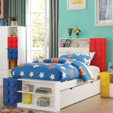 Acme Playground 30686 Multi-Color Twin Bed With Storage
