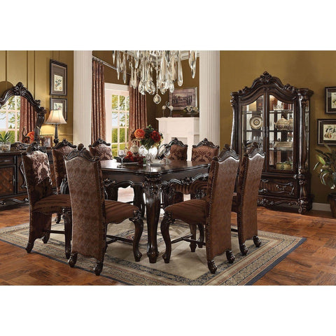 Acme Versailles 61155 5-Piece Dining Set in Cherry Oak Finish - Comfy Kids Bedroom