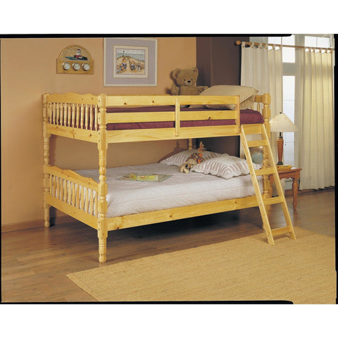 Acme Homestead Natural 02290 Full over Full Bunk Bed - comfykidsbedroom.com
