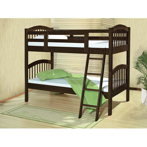 Acme Manville 37710 Twin over Twin Bunk Bed - comfykidsbedroom.com