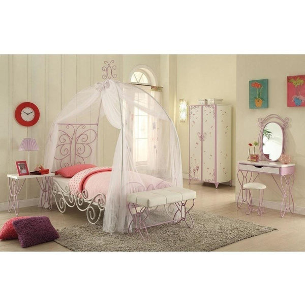 Acme Priya II 30530T 30535F Princess Canopy Bed - comfykidsbedroom.com