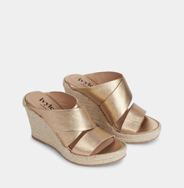 Ivylee Copenhagen Bella Sandals Gold