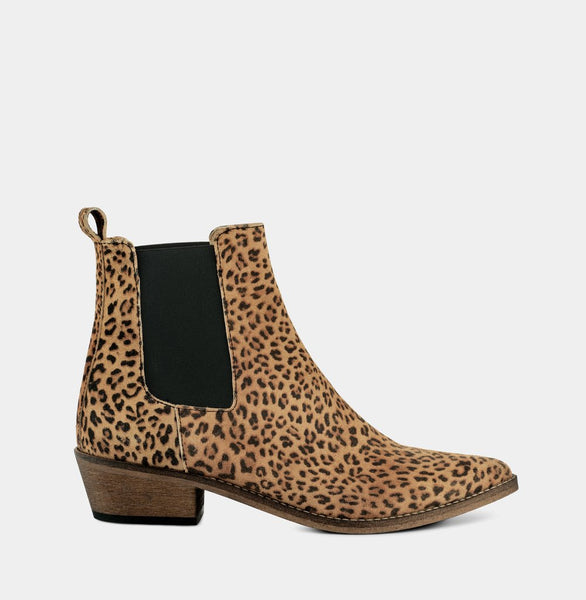 Stella Leopard - Beige - Ivylee Copenhagen Boots, Shoes, Sandals, Pumps, Clothing