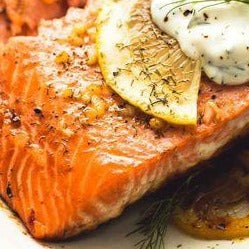 Bliss Signature Bowl - Baked Cajun Spiced Salmon