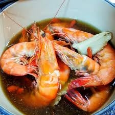 Fresh Prawn in Superior Herbal Broth