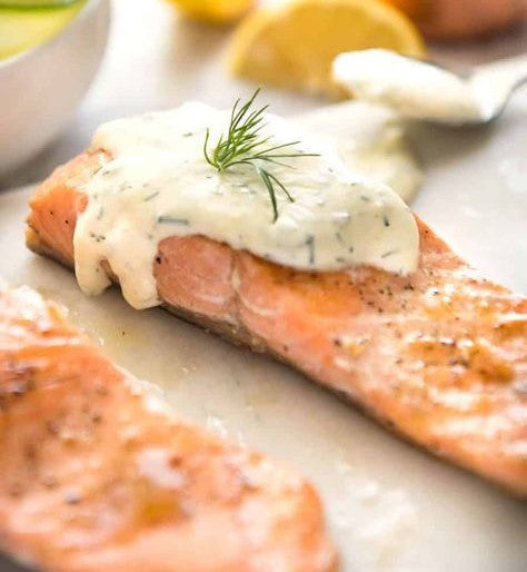 Norwegian Salmon, Dill Cream (1.2kg)