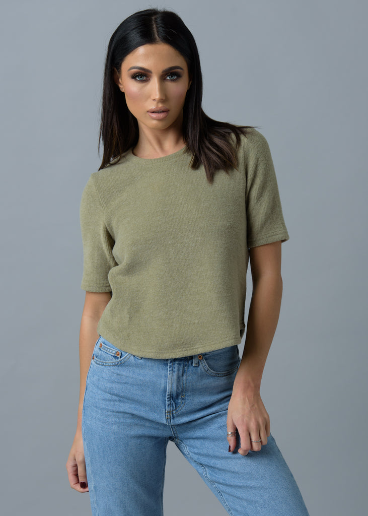 Olive Luxury Lounge Top