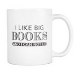 I like big book and I can not lie Mug - MyUnistyles