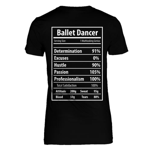 Ballet Dancer Facts T-Shirt