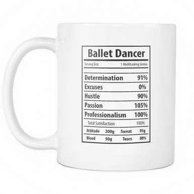 Ballet Dancer Facts Mug