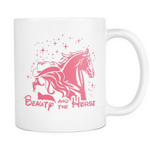 Beauty and The Horse Mug - MyUnistyles