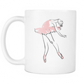 Ballet Pointe Dancer Mug - MyUnistyles